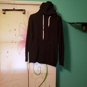 Zine black hoodie size small